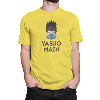 yasuo mains t-shirt