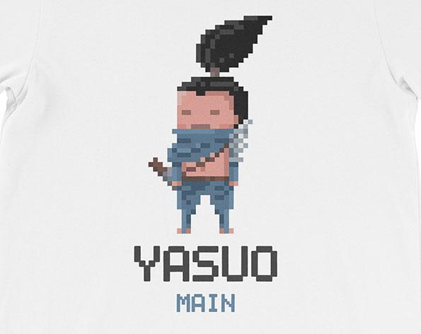 league of legends shirt yasuo